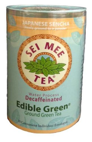 Edible Green Decaffeinated Single Serving Packets