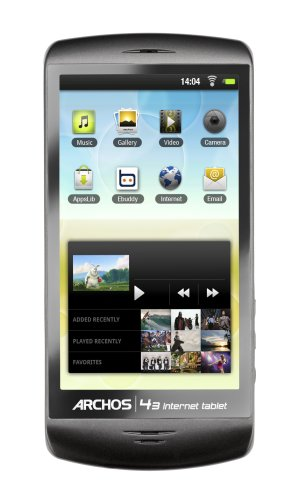 Archos 4.3-Inch 16 GB Internet Tablet  Android