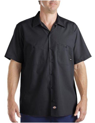 Dickies Occupational Workwear Ls535Bk Xl Polyester/ Cotton Men