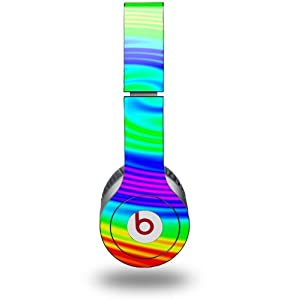 Rainbow Swirl Decal Style Skin (fits genuine Beats Solo HD Headphones - HEADPHONES NOT INCLUDED)