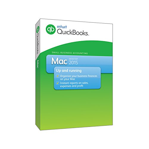 Intuit QuickBooks Mac 2015 (Old Version) (Budget Software 2015 compare prices)