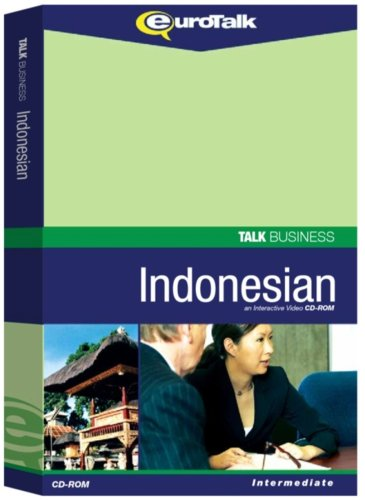 Talk Business Indonesian: Interactive Video CD-ROM - Intermediate (PC/Mac)
