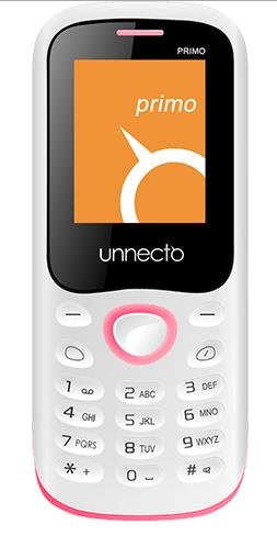 Unnecto U-140-1NA Primo White/Pink Unlocked QuadBand GSM Cell Phone- US Warranty- 2G: GSM 850 / 900 / 1800 / 1900