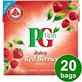 PG tips Red Berries 20s Pyramid Teabags 20 per pack