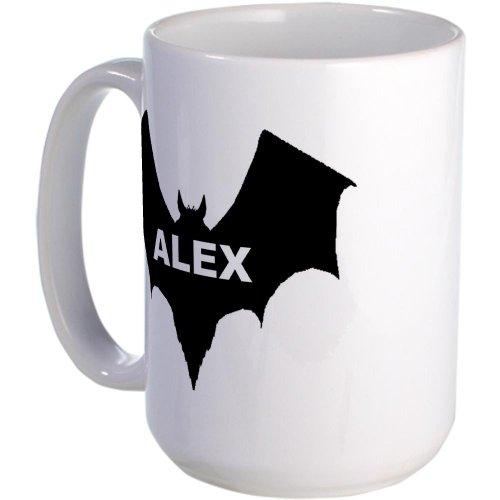 Cafepress Black Bat Alex Large Mug Large Mug - Standard