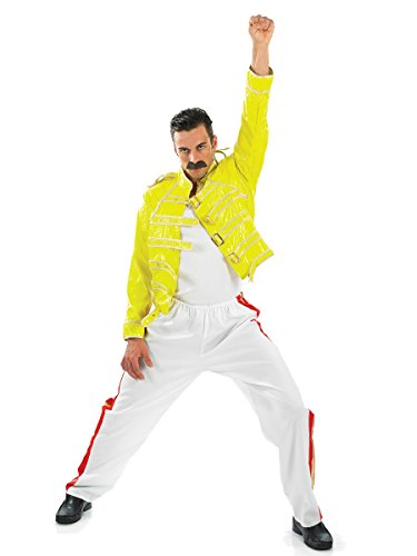 Freddie Mercury Queen Wembley Fancy Dress Outfit for Men