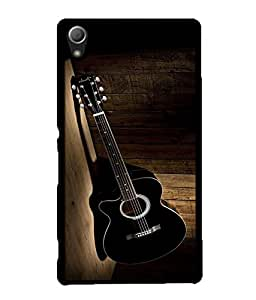 Crazymonk Premium Digital Printed 3D Back Cover For Sony Xperia Z5 Dual