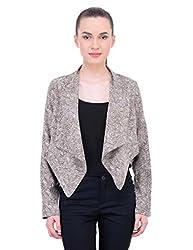 Oxolloxo Women brown jacket