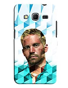 Omnam Paul Walker In Prism Effect Printed Designer Back Cover Case For Samsung Galaxy Core Prime