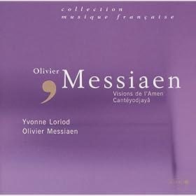 Messiaen-Visions de l'Amen pour 2 pianos - Cant�yodjay�