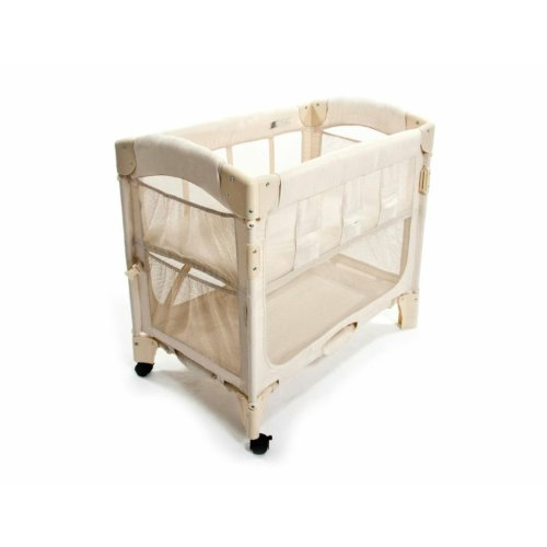 Find Discount Arm's Reach Concepts Mini Arc Co-Sleeper Bassinet, Natural