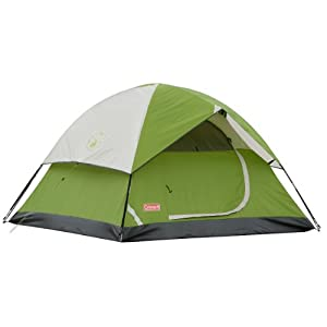 Coleman Sundome 3-Person Tent (Green, 7-Feet x 7-Feet) $47.99