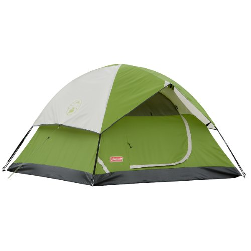 Coleman Sundome 3-Person Tent (Green, 7-Feet x 7-Feet), Outdoor Stuffs