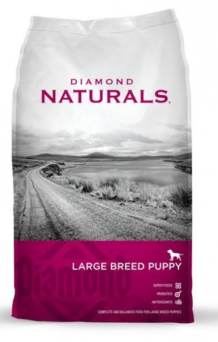 Diamond Naturals Dry Food for Puppy, Large Breed Lamb and Rice Formula, 40 Pound Bag
