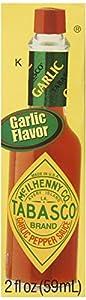 Tabasco Garlic Pepper Sauce, 2 Ounce (Pack of 12)