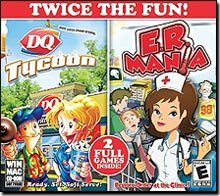 DQ Tycoon and ER Mania 2 Pack