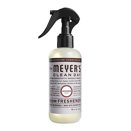 MRS MEYERS - Clean Day Air Freshener - New Improved Style - LAVENDER - 8OZ (Air Freshener Prime compare prices)