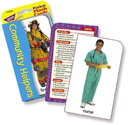 Community Helpers & Careers Pocket Flash Cards - 1