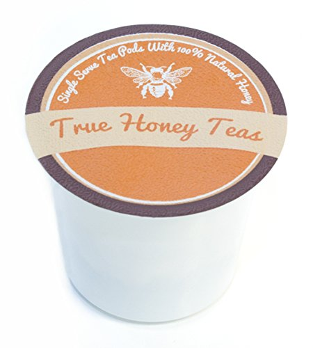 Decaf Honey Infused Earl Grey Single Serve Tea for Keurig K-Cup Brewers (Box of 24) (Earl Grey Decaf Tea Keurig compare prices)