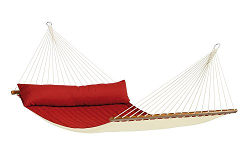 La Siesta North American Style Alabama King Size Hammock With Spreader Bars, Red Pepper (Discontinued By Manufacturer)