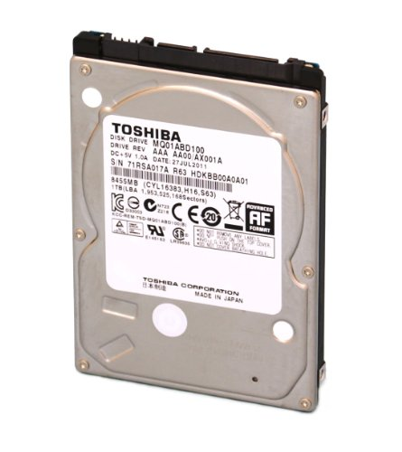 MQ01ABD050 500GB Toshiba 2.5-inch SATA laptop hard drive 5400rpm, 8MB cache