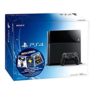 PlayStation 4 8GB Console Bundle KillZone: Shadowfall & Knack 1 Year Membership