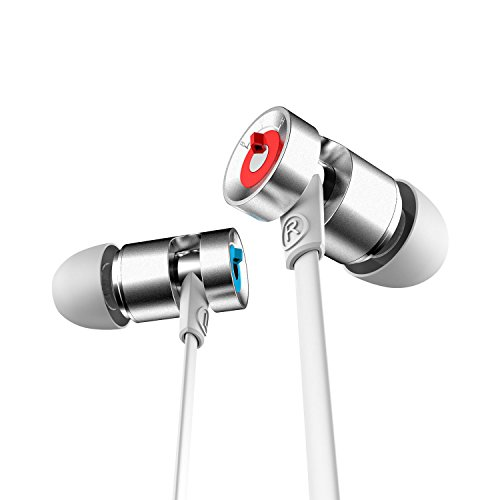 Jayfi JA30 White ホワイト 高音質 カナル型 HiFi インイヤホン ヘッドホン マイク付き サウンドコントローラー付き 遮音性 「一年間保証付き」