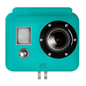 XSories Silcione Cover for GoPro HD HERO 1, 2 & 3 - Blue