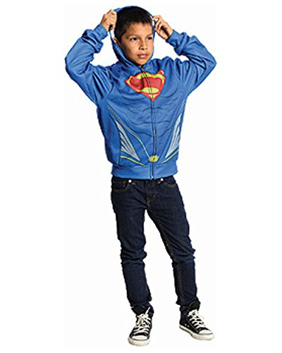 Rubies Man of Steel Superman Hoodie