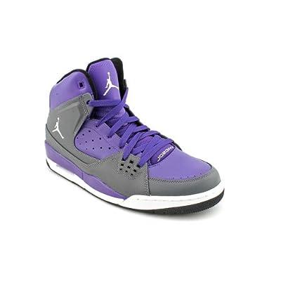 Mens Purple Nike Basketball Shoes