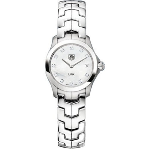 TAG Heuer Women's WJF1414.BA0589 Link Diamond Accented Watch