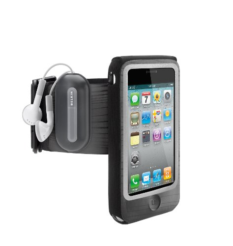Belkin FastFit Armband for Apple iPhone 4 and 4S (Black)