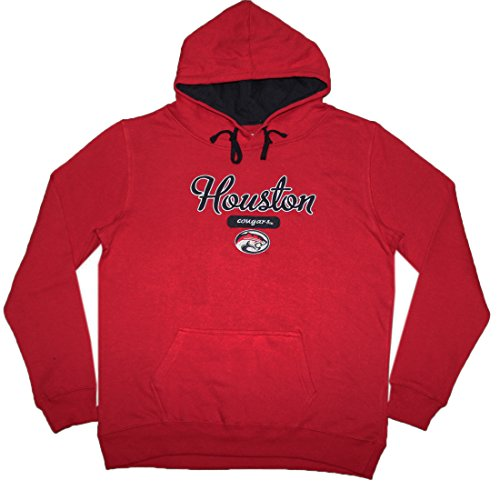 NCAA Youth HOUSTON COUGARS Athletic Pullover Hoodie / Sweatshirt S Red