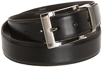 Dockers Men's 30Mm Reversible Swivel Buckle Belt,Black/Brown,32