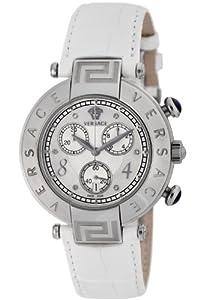 (奢侈)Versace 范思哲 68C99SD498 S001 Reve 蛇皮表带瑞士制造钻石女士腕表 $926.03
