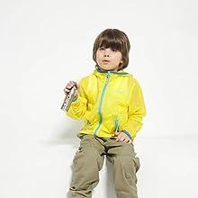 Children Lightweight Skin Windbreaker - 122cm - Blue