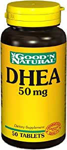Amazon.com: DHEA 50 mg Good 'N Natural 50 Tabs: Health & Personal Care