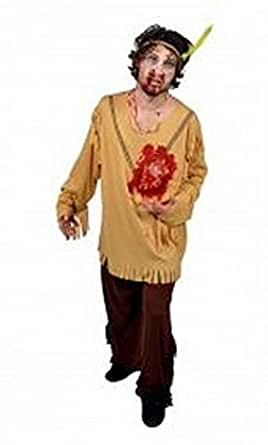 Morphsuits Men's Morphcostume Co Beating Heart Indian Male Digital Costume