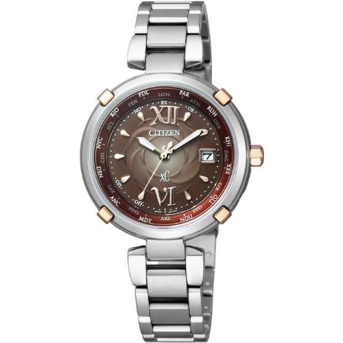 [シチズン]CITIZEN 腕時計 xC クロスシー TITANIA LINE HAPPY FLIGHT Eco-Drive エコ・ドライブ 電波時計 EC1064-58W レディース