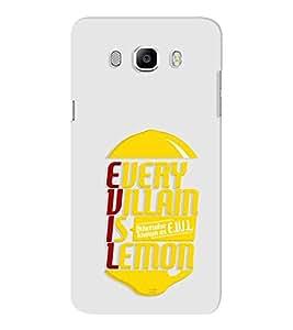EPICCASE Evil Lemon Mobile Back Case Cover For Samsung J7 2016 (Designer Case)
