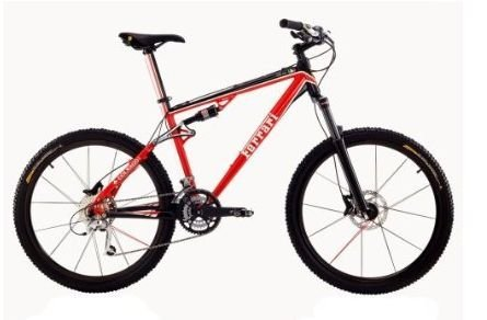 Full Suspension Adult Mountain Bike Frame Size: Medium