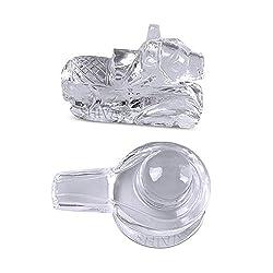 Shiva Rudraksha Ratna Natural Quartz Crystal / Sphatik Shiv Nandi 40 gm. approx