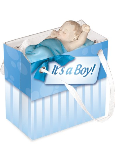 Angelstar Newborn Gifts to Go - Baby Boy with Blanket - 1