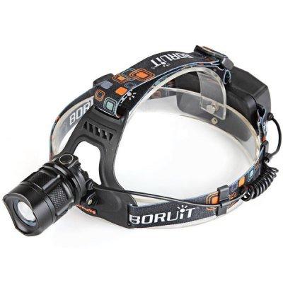 Comple B1 Us Plug Cree Xml-T6 600 Lumens Led Camping Cycling Headlight (1 Or 2 X 18650 Battery)