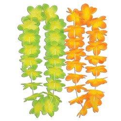 Silk 'N Petals Kiwi Mango Leis (asstd colors) Party Accessory  (1 count)