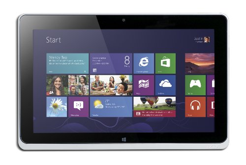 Acer Iconia W510-1666 10.1-Inch 64 GB Tablet (Silver)