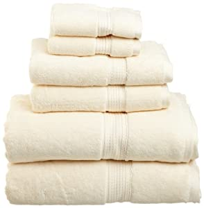 Amazon.com: Superior 900 Gram Egyptian Cotton 6-Piece Towel Set ...
