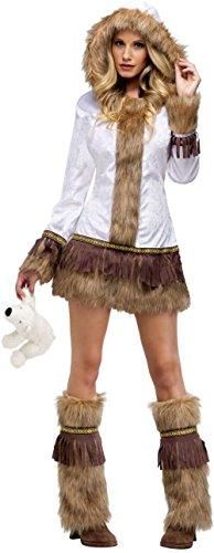 [Eskimo Adult Costume - Small/Medium] (Eskimo Costume Makeup)