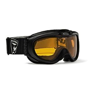 ALPINA Erwachsene Skibrille Comp D, Black Matt, One Size, A7072131