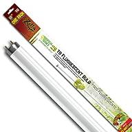 Zilla 11988 18-Inch Tropical 25 T8 UVB Fluorescent Bulb, 15-Watt